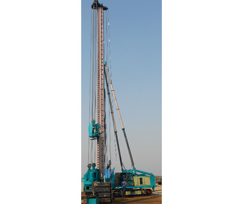Full Hydraulic Track Pile Driver